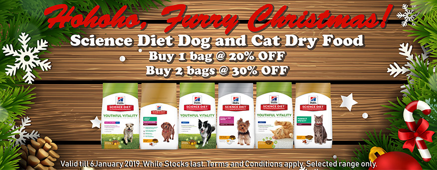 Science Diet dog and cat food promo